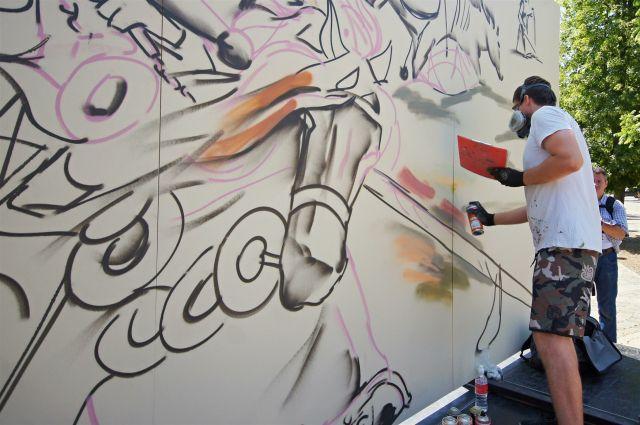 Подземный переход украсят художники.