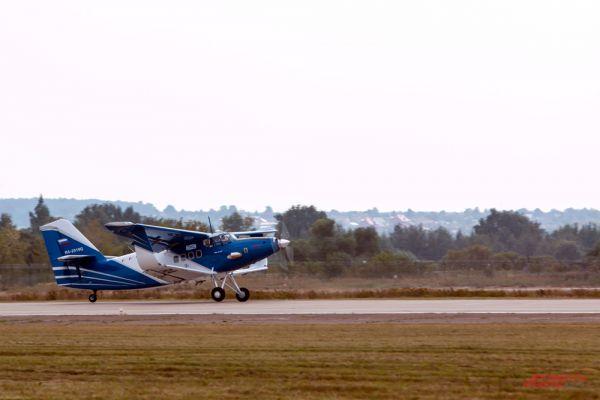 Самолет  ТВС-2ДТ.