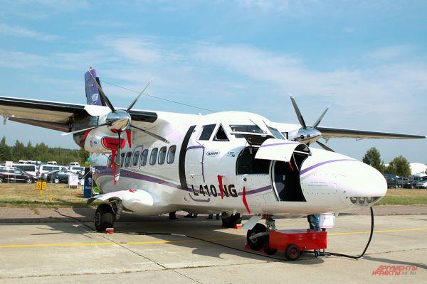 Самолет L 410 NG.