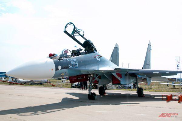 Истребитель Су-30 СМ.