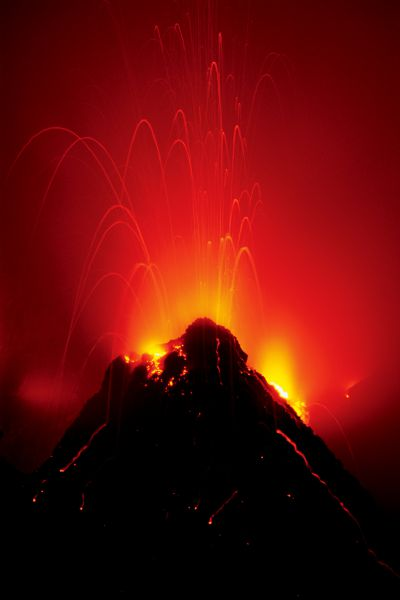 В 1983 году вулкан Килауэ признали самым активным в мире.