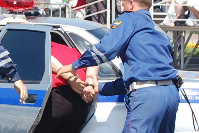Водитель был задержан.