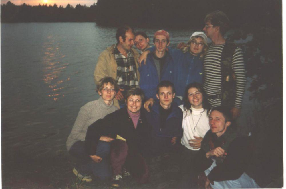 Фото Людмилы: на закате у озера.