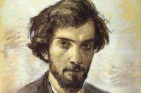 Исаак Левитан, автопортрет. 1880 год.