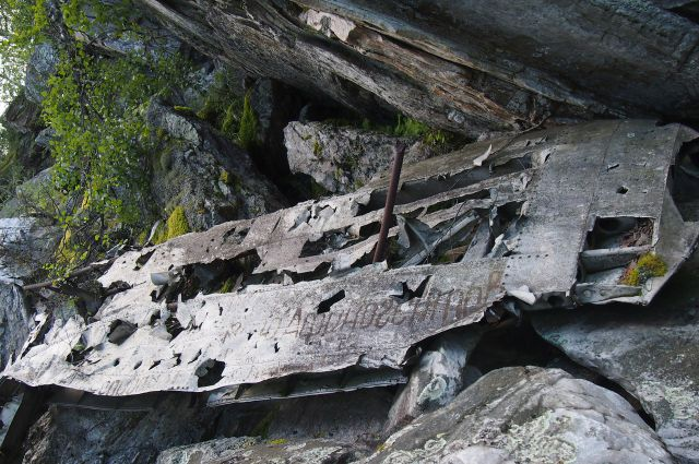 Под Нижним Тагилом нашли останки бомбардировщика времен Второй Мировой