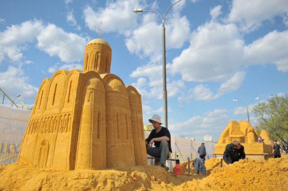 ХМАО. Фестиваль песчаных скульптур