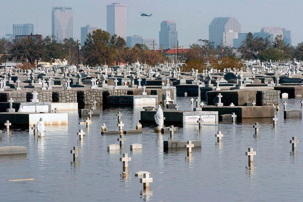 Президент США Джордж Буш объявил штаты Луизиана, Миссисипи, Алабама и Флорида зоной стихийного бедствия.