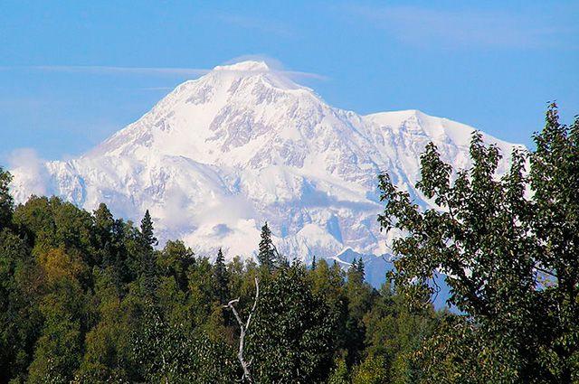 Гора Денали.