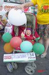 Конкурс детских колясок «Арбузные малыши».