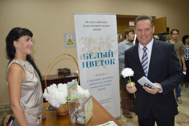 Глава города дал старт благотворительной акции в Пензенской Думе.