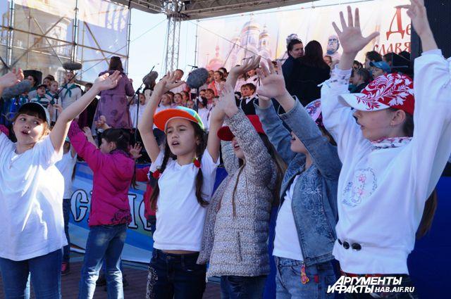 2 сентября в Хабаровске состоится песенный флэшмоб