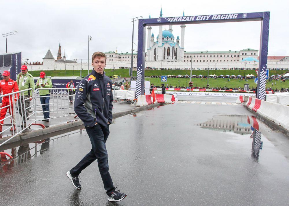 Даниил Квят - единственный российский пилот Формулы-1