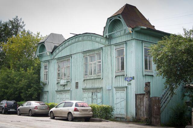 Часть исторического квартала Красноярска.