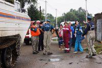 МЧС готовится к спасательной операции.