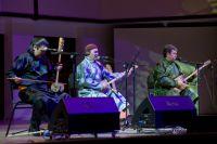 Исполнители национальной тувинской музыки.
