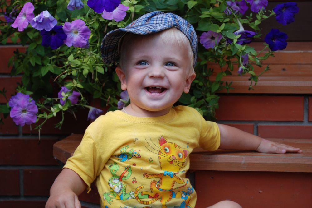 Иван Каприн, 2 года.