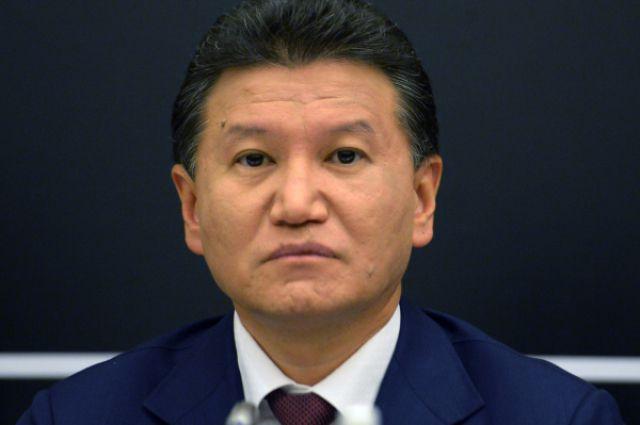 Кирсан Илюмжинов, президент Международной шахматной федерации.