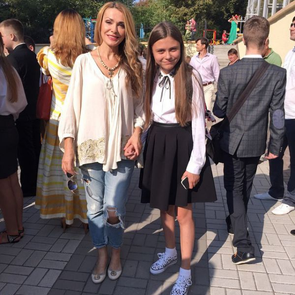 Ольга Сумская с дочерью Анной
