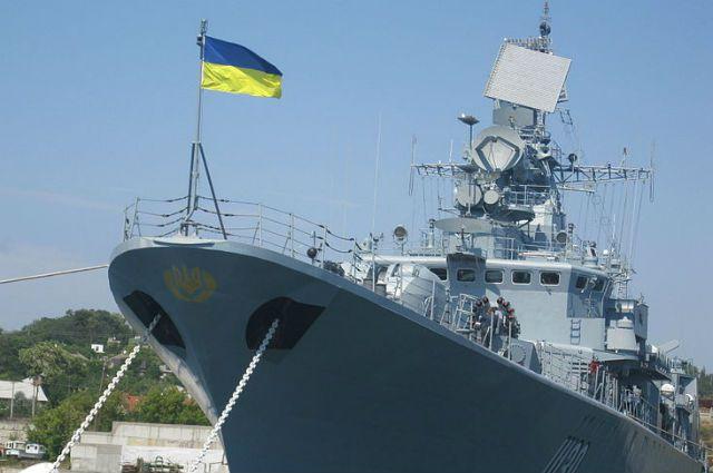 Фрегат «Гетман Сагайдачный» - флагман украинского флота