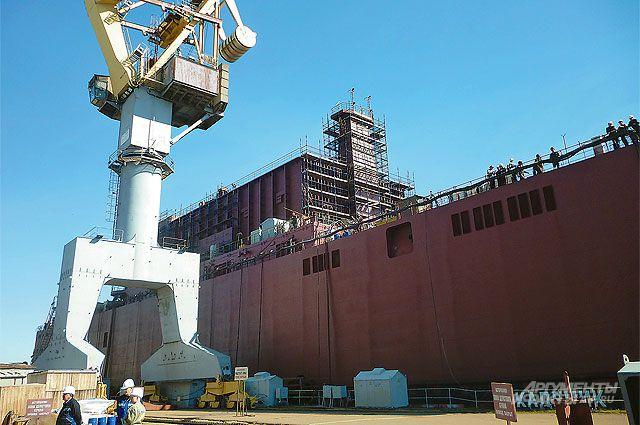 Плавучая атомная тепловая и электростанция «Академик Ломоносов» отправится на Чукотку в 2019 г.