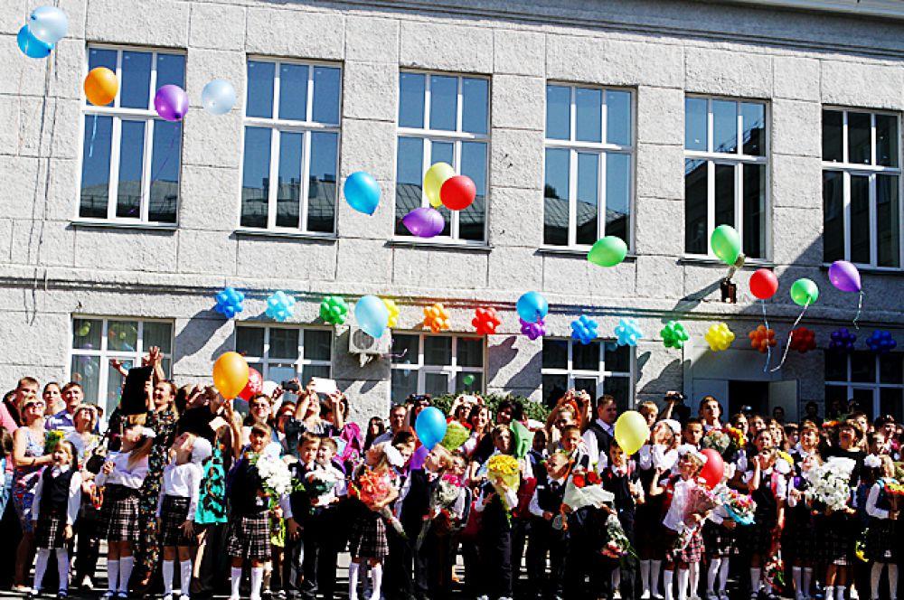 1 сентября для более 145 тысяч школьников Новосибирска начался учебный год.