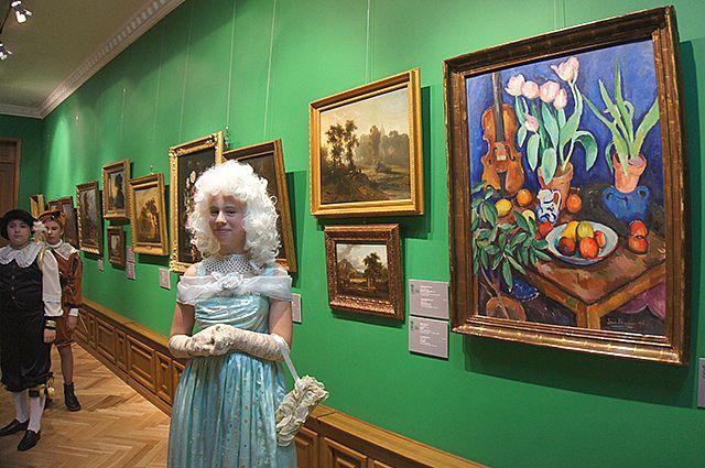 Экспозиции из Эрмитажа уже представлялись во Владивостоке.