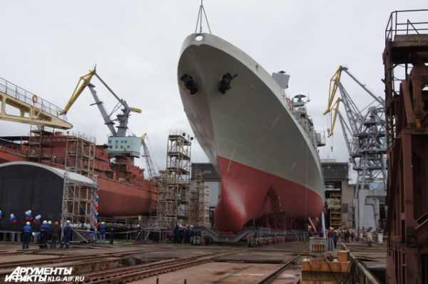 Всего ВМФ заказал шесть кораблей этого типа.