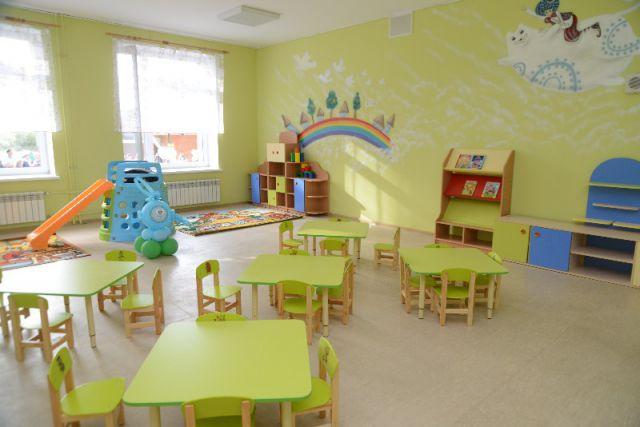 Интерьер детского сада в Михновке.