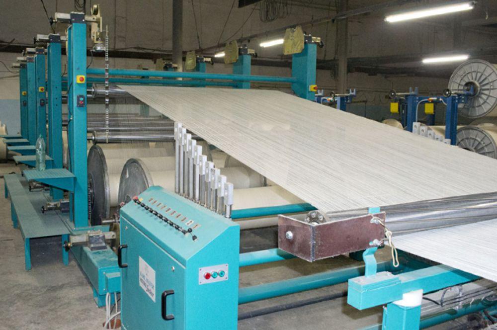 Из пряжи гарантированно высокого качества получается безупречная суровая ткань – основа «Камышинского текстиля».
