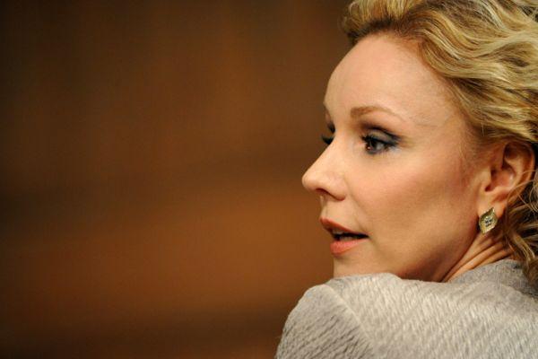 После ГИТИСа Марина Зудина пошла работать в Театр-студию Олега Табакова. Первые шесть лет актрисе не везло. По ее мнению, ей не хватало каких-то осмысленных ролей. Тем не менее, она сыграла Таню в спектакле «Кресло», Ровенну в «Билокси-блюзе», Свету в «Крыше».