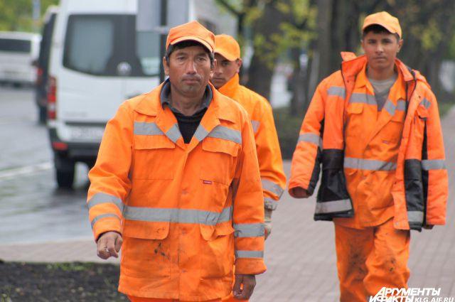 Жители Средней Азии освобождают рабочие места для местных.