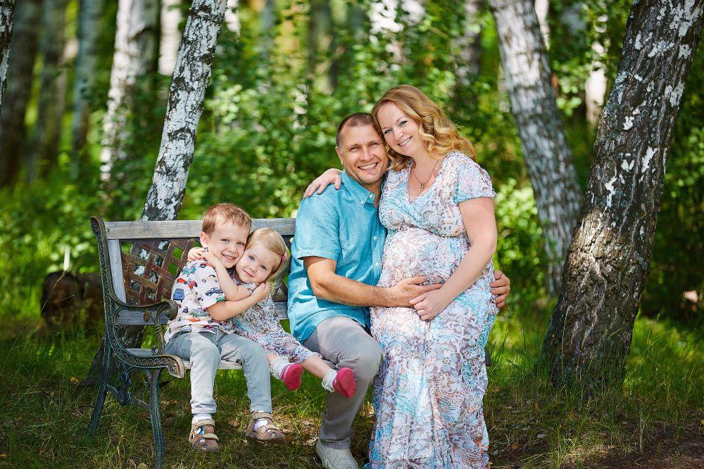 Семья Капитанских делится своим счастьем.