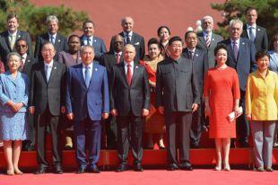Самыми главными гостями стали президент РФ Владимир Путин и президент Южной Кореи Пак Кэн Хе.