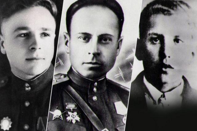 Валентин Сугрин, Михаил Власов, Алексей Артамонов.
