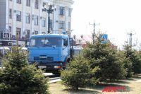 В последнее время грузовики составляют значительную часть дорожного траффика на улицах Хабаровска
