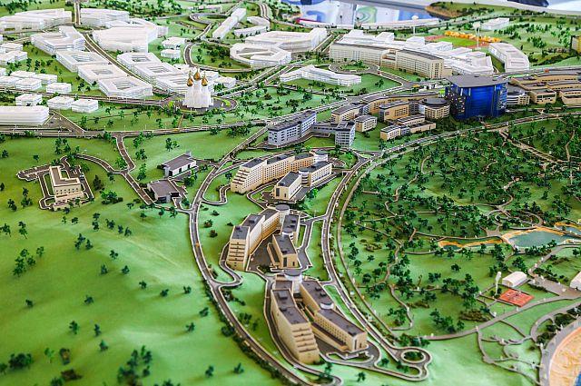 Проект развития острова Русский.