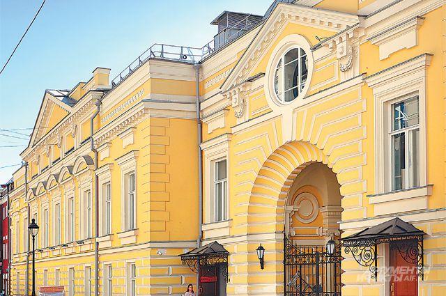 Открытие исторической сцены «Геликон-оперы» назначено на 2 ноября.