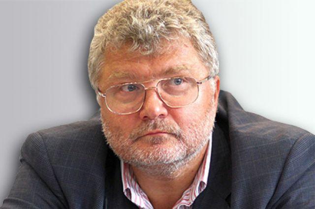 Писатель Юрий Поляков.