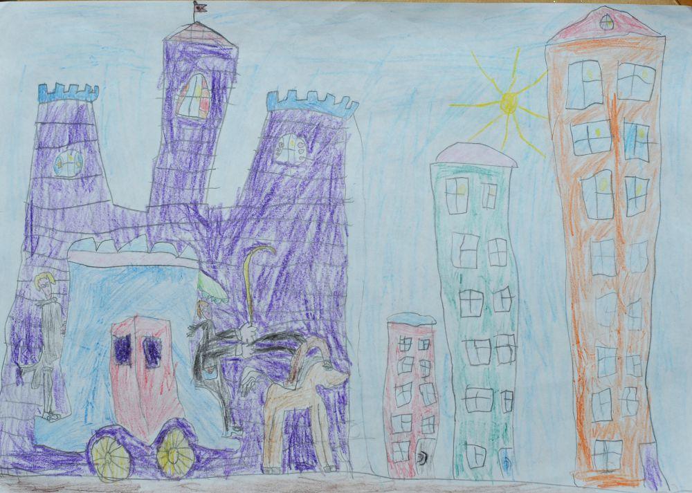 Света Левитина, 6 лет.