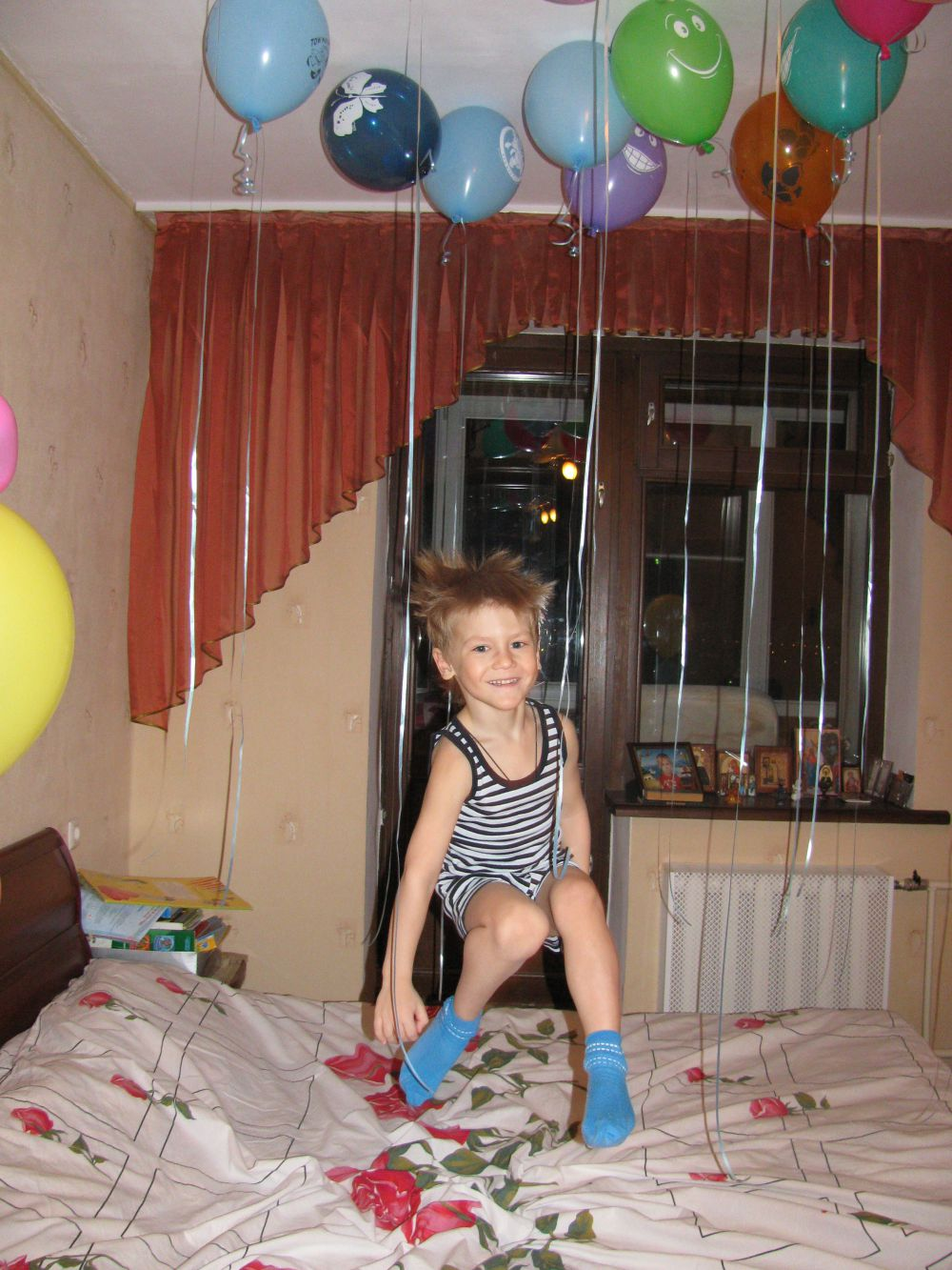Лев Андрюхин, 8 лет.