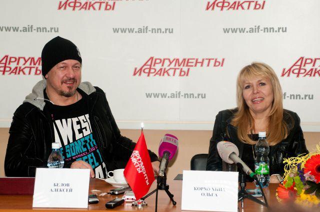 Ольга Кормухина споет популярные хиты «Парк Горького».