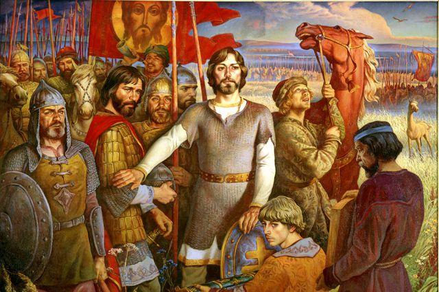 Ракша Ю.М. «Куликовская битва». 1980 г.