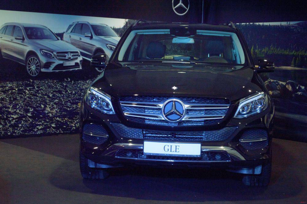 Новиый кроссовер с пневмоподвеской - Mercedes-Benz GLC
