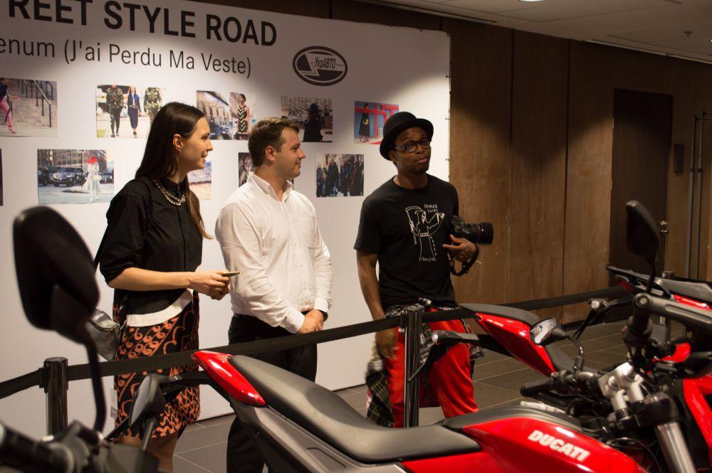 Известный блоггер, который стал лицом рекламной кампании Ducati Streetfighter