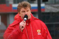 Дмитрий Губерниев приехал в Омск впервые.