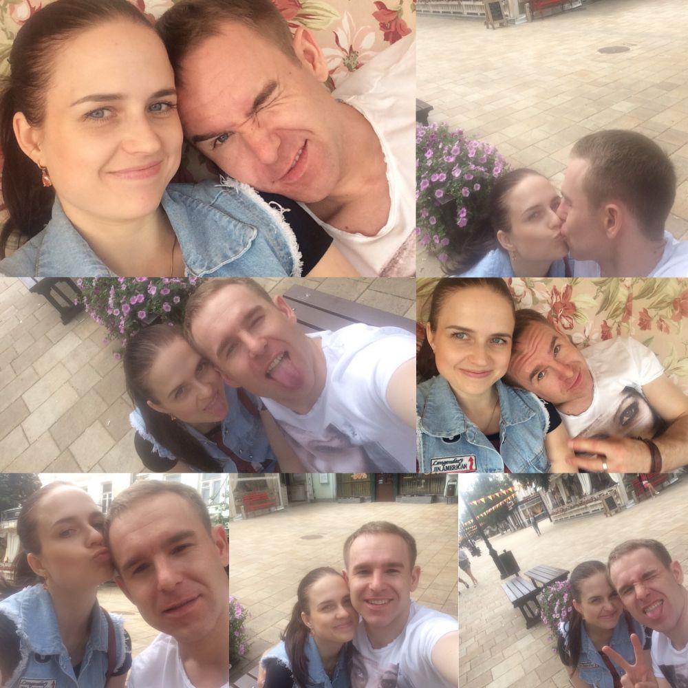 Елена Шпагина и Иван Демкин - 3 место в конкурсе «Улыбнись городу» по версии Ринвестбанка.
