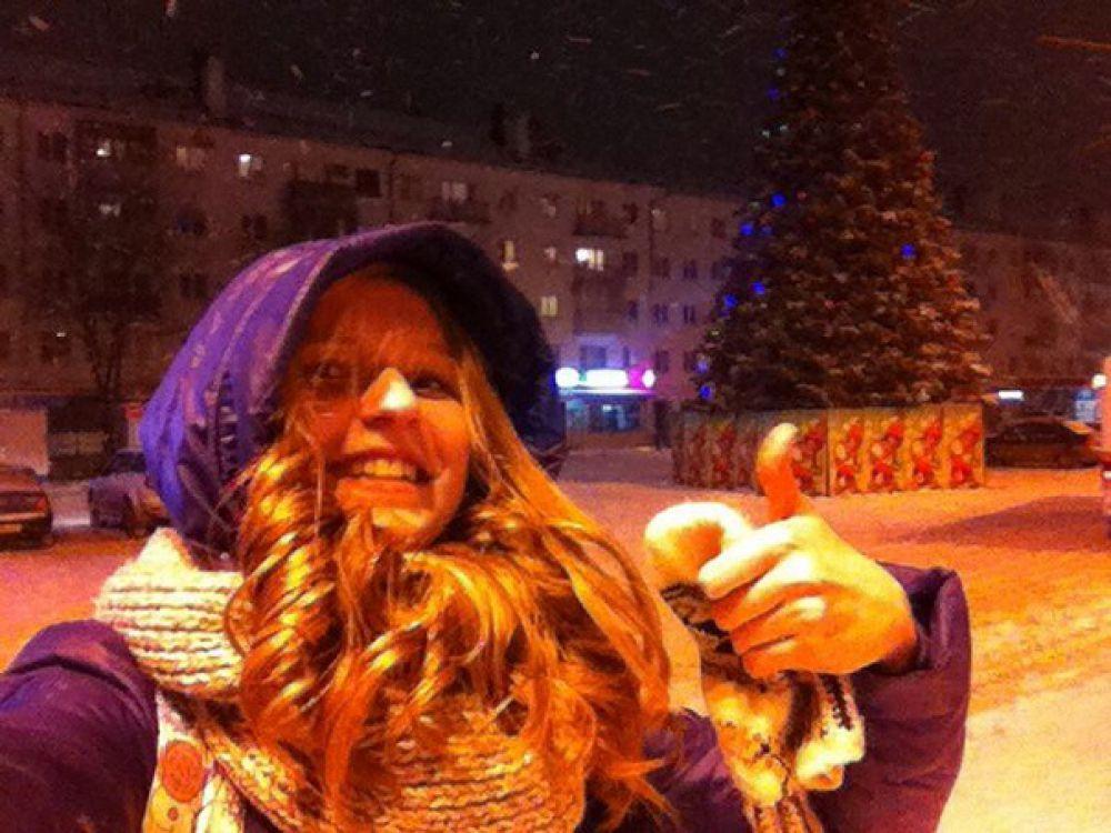 Елена Гарбузова - поощрительный приз от Ринвестбанка.