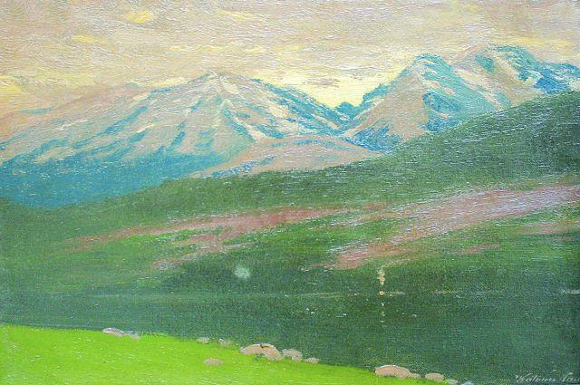 Художника вдохновляли Высокие Татры.