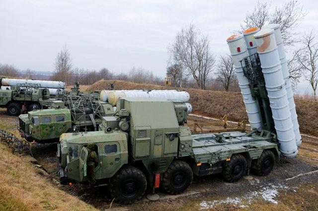 Учения ПВО.
