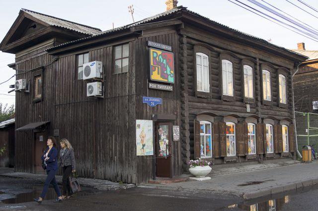 Ретро-здание на ул. Ленина, 76